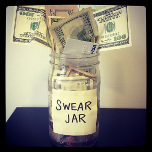 ... Overflowing 'Swear Jar' Photo After Cursing Out Olivia Nuzzi [PHOTO