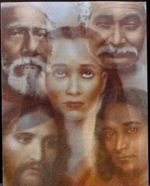 ... Christ Jesus, Lahiri Mahasaya, Sri Yukteswar, Paramahansa Yogananda