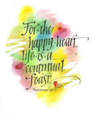 What's the secret to joyful heart living and to having fullness of ...