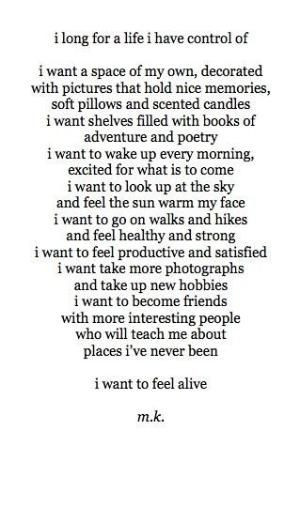 want to feel alive ♥ by fay