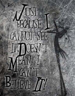 Halloween Quote, Jack Skellington, Nightmare Before Christmas