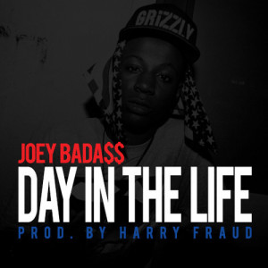 ... Joey Bada$$ rapping on 'Day In The Life' over a beat produced by
