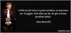 quotes about overcoming struggles in life