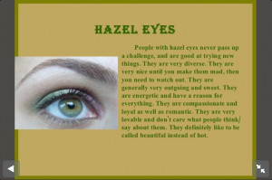 People With Hazel Eyes Quotes People with hazel eyes like me