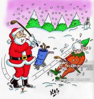 related topics santa santa claus father christmas christmas golf