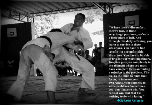 Rickson Gracie Quote!!!