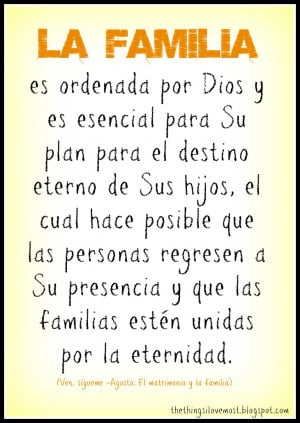 Family Quotes In Spanish ~ Spanish Quotes About Family In Spanish ...