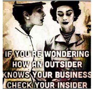 Do unto others.... #MindYourBusiness