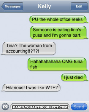 Auto Correct: The perfect way to brighten up your day