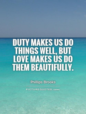 Duty Quotes