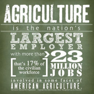 quote #agriculture #agisimportant #listenupobama Agriculture is the ...