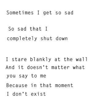 depression sad lonely quotes alone