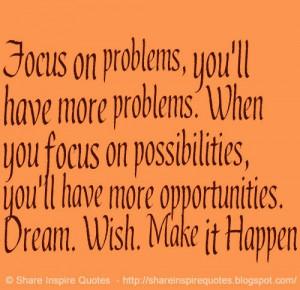 Dream. Wish. Make it Happen
