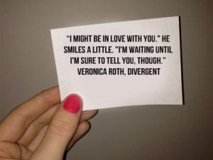 Veronica Roth's 25th Birthday, August 19, 2013, Divergent Quotes