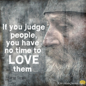 Christian Quotes About Judging People