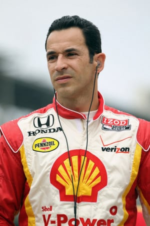 Helio Castroneves Helio Castroneves of Brazil driver of the Shell V