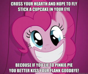 Pinkie Pie Promise random