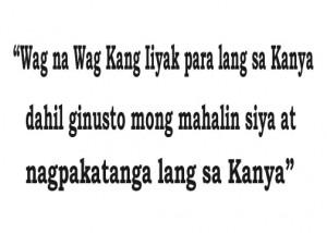 Sad Quote Tagalog 2013