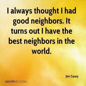 Good Neighbor Quotes