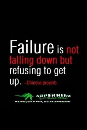 Failure...not an option