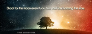 shoot for the moon , stars , quote , quotes , covers