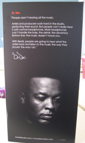 Quotes by Dr Dre Beats