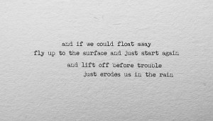 """Coldplay, """"Us Against The World"""""""