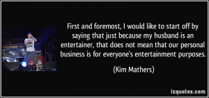 More Kim Mathers Quotes Picture