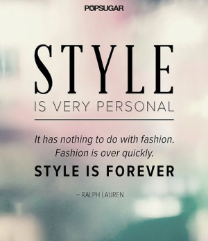 34 Famous Fashion Quotes Perfect For Your Pinterest Board: They say ...