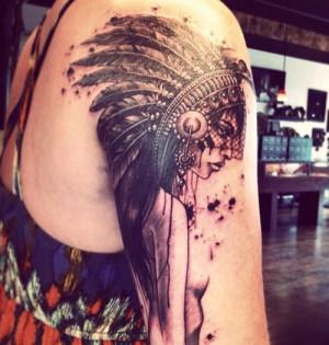 Tattoo Fuuny Shoulder Tattoo By Christel Perkins design ideas