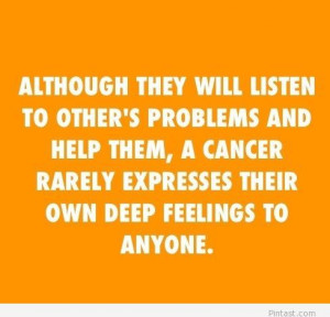 cancer zodiac quotes and sayings