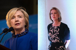 """CNN: Hillary Clinton And Carly Fiorina Are In A """"Girl Fight ..."""