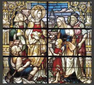 The Catholic law of charity. Above , St. Elizabeth of Hungary ...