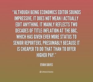 Evan Davis Quotes