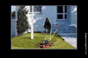 Tråden för udda och ovanliga gräsklippare (humor)