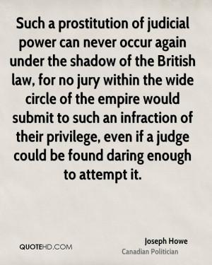 Joseph Howe Quotes