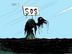 Dennys Funny Quotes Dark Humor Oil Spill Cartoons May