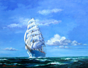 Sea And Sky The Quotes Ships Sailing