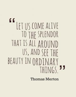 Thomas Merton}