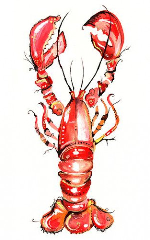 He's her LOBSTER.