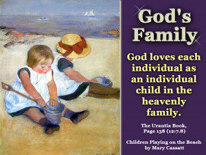 God's Family - Quote of the Day - God, family, heavenly