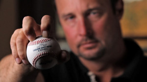 """... """" in the same sentence characterizing Tim Wakefield's knuckler"""