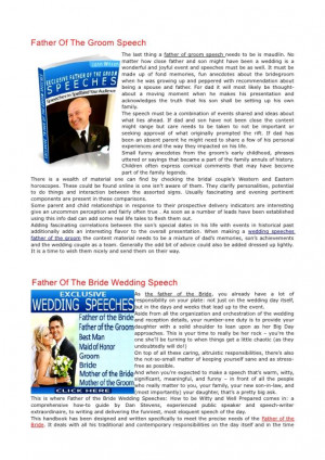 Wedding Speech Father Of The Groom Quotes