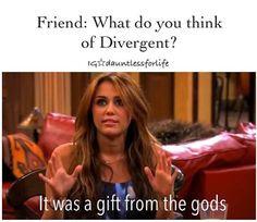 ... divergent gift, divergent funny tobias, god, funni, true, gifts