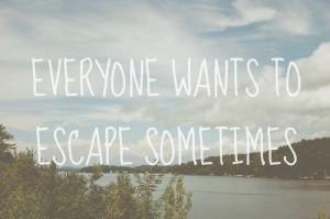 escape, quotes