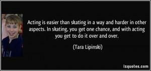 More Tara Lipinski Quotes
