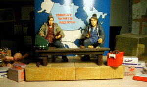 Bob And Doug Mckenzie Action Figures Here Close Look