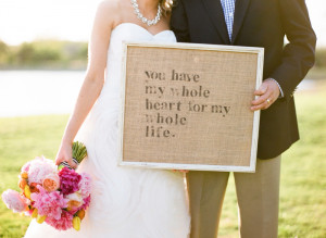 this & that sign wedding sign quote Rustic