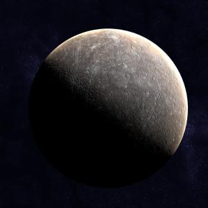 planet mercury 3d model max