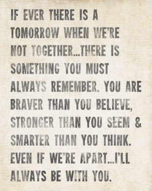 Always Remember A.A Milne Quote - inspirational art print
